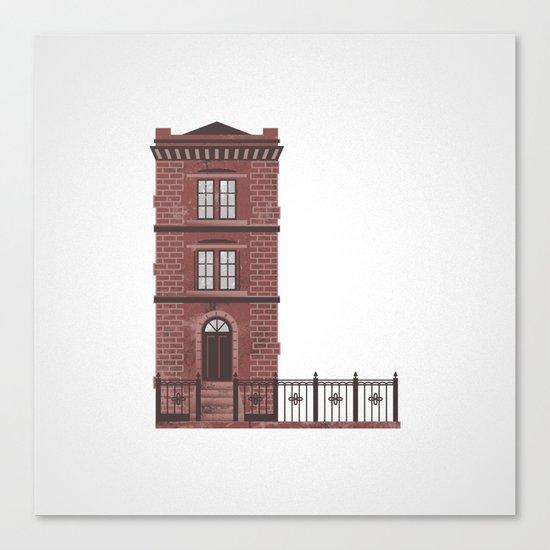 The Letter L Canvas Print