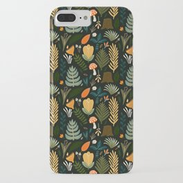 FOREST PATTERN iPhone Case