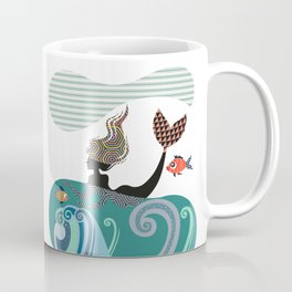 Cute Mermaid Coffee Mug