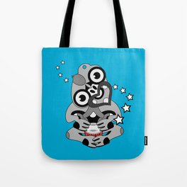 Hei Tiki New Zealand Drum Tote Bag
