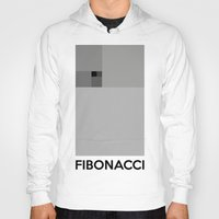 fibonacci Hoodies featuring Fibonacci squares by Solar Designs