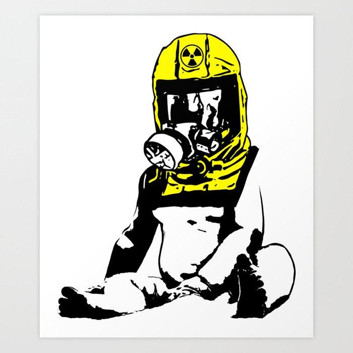 RadBaby Art Print by uphill
