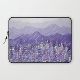 Purple Mountain Rain Laptop Sleeve