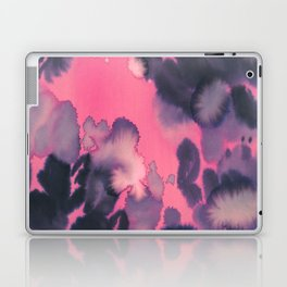 watercolor waves COLLAB DYLAN SILVA Laptop & iPad Skin