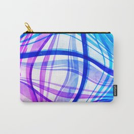 Abstract Vivids Carry-All Pouch