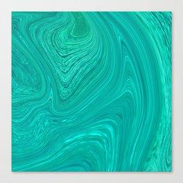 Slippery Ocean Canvas Print