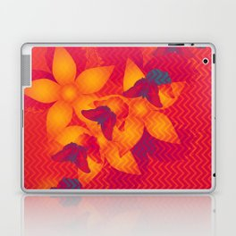 Radioactive butterflies Laptop & iPad Skin