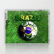 Old football (Brazil) Laptop & iPad Skin