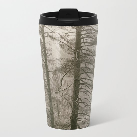 """""""Forest arms"""". Into the woods Metal Travel Mug"""