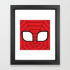 Adorable Spider Framed Art Print