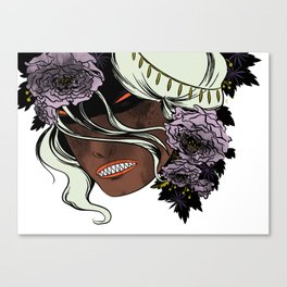 White as Milk, Red as Blood: Witch Canvas Print