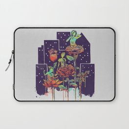 City of Flower Laptop Sleeve