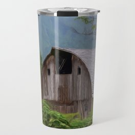 Middle Of Nowhere - Country Art Travel Mug