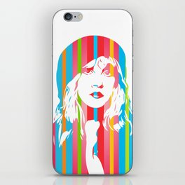 Stevie Nicks | Pop Art iPhone Skin