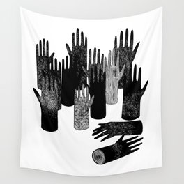 The Forest of Hands Wall Tapestry