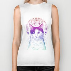 Of cats and insects Biker Tank