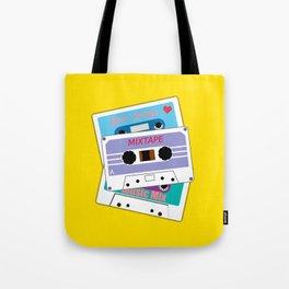 Love Songs Mixtape Tote Bag