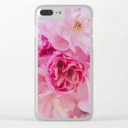 Cherry Blossom Bloom Clear iPhone Case