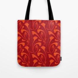 Art Nouveau Fans Tote Bag