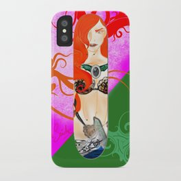 Warrior Lady.  iPhone Case