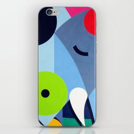 Elephant - Paint iPhone Skin