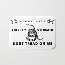 Culpeper Minutemen Flag - Authentic High Quality Bath Mat