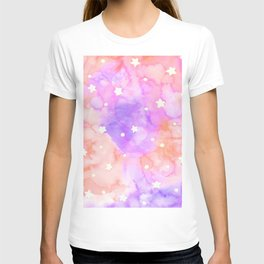 Starry Sky Raspberry Milkshake T-shirt