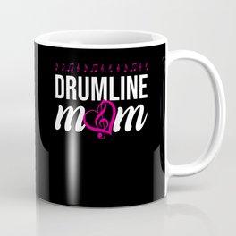 Drumline Mom Marching Band Coffee Mug