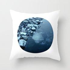 Telescope 10 ice  Throw Pillow