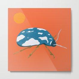 Cloud beetle Metal Print