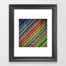 Stripes II Framed Art Print