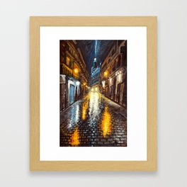 Reflexiones Framed Art Print