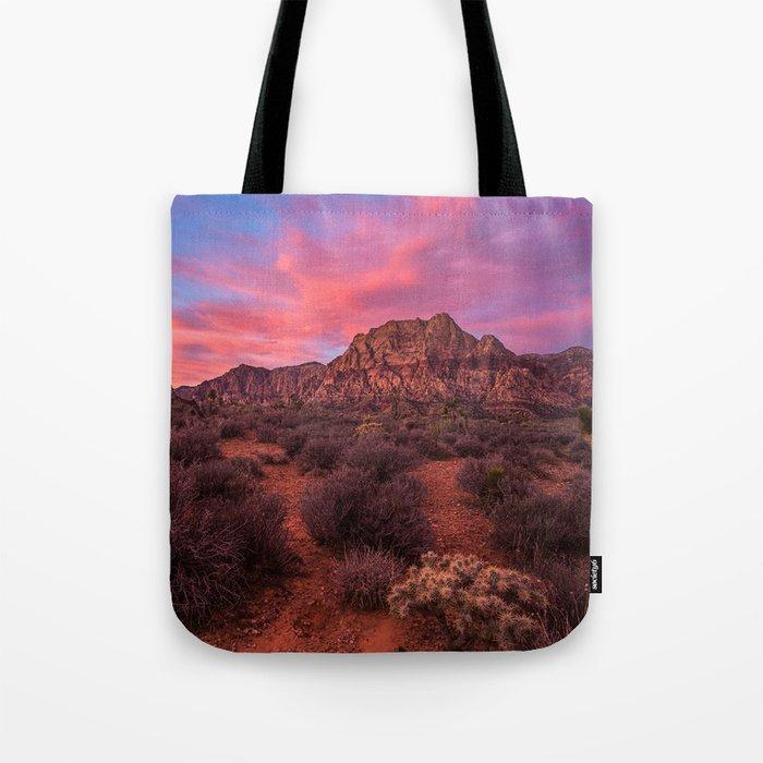 Sunrise at Red Rock Tote Bag