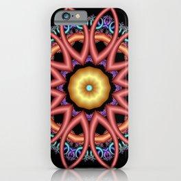 symmetry on black -09- iPhone Case