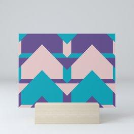 Glow Way #society6 #glow #pattern Mini Art Print