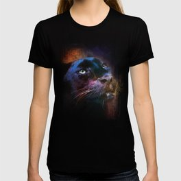 Colorful Expressions Black Leopard T-shirt