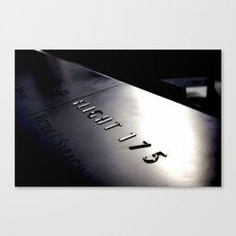 Flight 175 Canvas Print