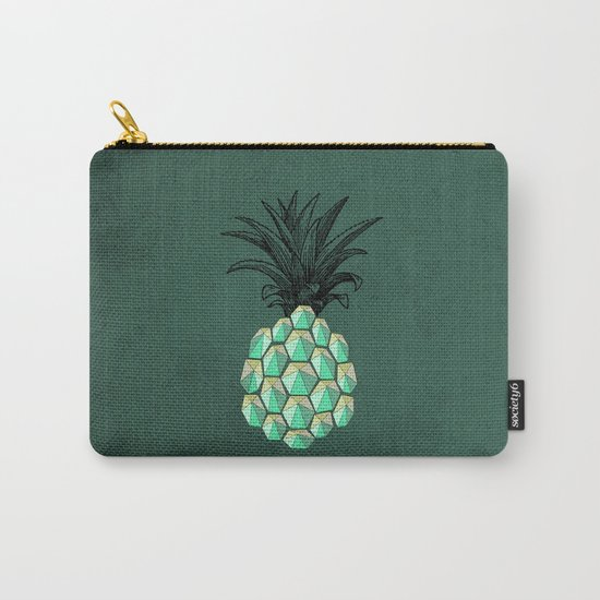 pineapple anatomy 4 Carry-All Pouch