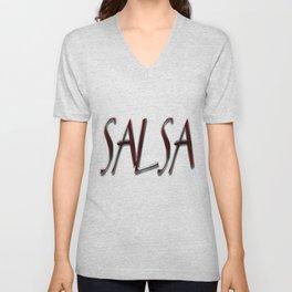 Salsa y Nacho Unisex V-Neck