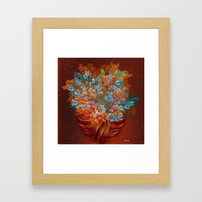 A gift of joy  Framed Art Print