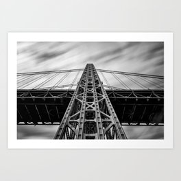 George Washington Bridge Art Print