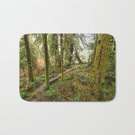 Pacific Coast Rainforest Boardwalk Bath Mat