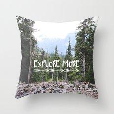Explore More Throw Pillow