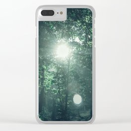 Canopy Worship Clear iPhone Case