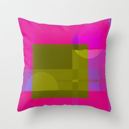 Copy of Abstract Image Design In Digital Media No 18 Throw Pillow
