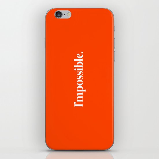 I'mpossible iPhone & iPod Skin