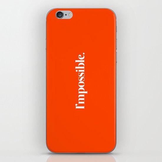 I'mpossible iPhone Skin