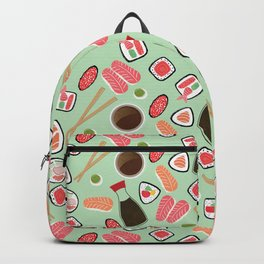 Sushi is my Soymate Backpack