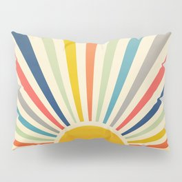 Sun Retro Art III Pillow Sham