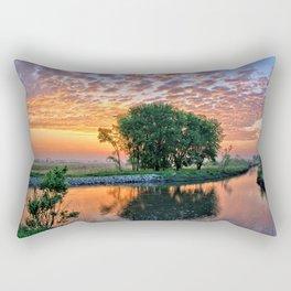 Big Marsh Sun 2018 Rectangular Pillow